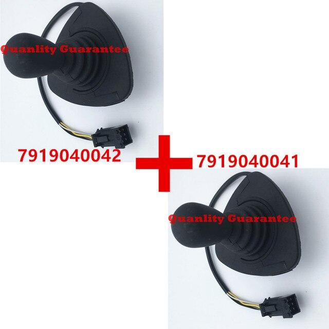 Linde forklift part joystick cross lever 7919040042 and 7919040041 diesel electric truck 335 336 386 394 396