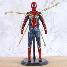 Infinito Guerra Ferro Aranha Spiderman Thor da Marvel Comics Avengers Captian América Homem De Ferro Figura PVC Action Figure Toy Modelo(China)