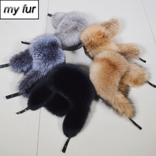 New Men Outdoor Windproof Winter Natural Real Fox Fur Bombers Hats Quality Raccoon Fur Cap Man Luxury Real Sheepskin Leather Hat cheap doakxol Adult Solid Bomber Hats my fur-9224 100 natural real fox fur 100 natural real sheepskin leather Adjustable fit for everyone