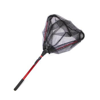 Folding Single Triangle Copy Network Wide Scope of Application Safety and Reliability Fly Hand Convenient Outdoor Fishing Nets фото