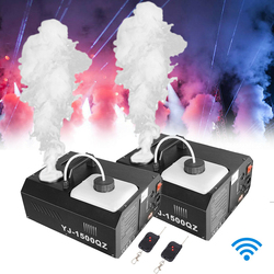 Honhill 1pcs Fog Smoke Machine DMX512 1500W Wireless Fogger Machine With Remote Control Upspray Fogger Stage Disco Fogger