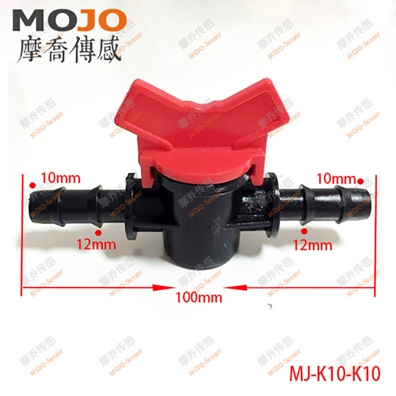 2020 Free Shipping!(10pcs/Lots) MJ-K10-K10 Water Valve For 10mm Diameter NEW PE Garden Irrigation Water Faucet
