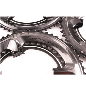 Image 3 - シマノ硬膜エース R9100 11 スピード黒 chairing バイク自転車 110BCD 50 34 t/52 36 t /53 39t R9100 クランクセットロードバイクアクセサリー