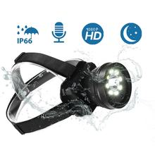 Rechargeable Headlamp IP66 Waterproof head lamp Outdoor headlight Sports head light Dedicated Headlights(China)