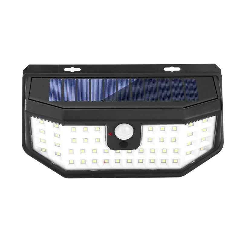 66LED ソーラースイッチ誘導ランプ人間誘導ランプ 3 モード四辺高光効率いいえ熱放射