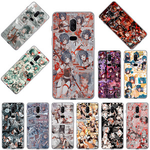 Image 1 - Genshin Impact Transparent Soft TPU Phone Case for OnePlus 9 8T 5T 7T 7 Pro 6 6T 5 3 8 Nord N10 N100 Cover Coque Funda Capa