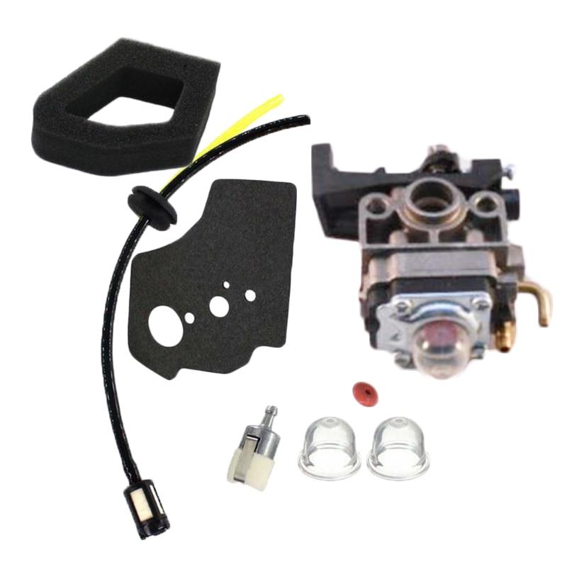 Carburetor Air Filter For Honda GX25 UL425 UMS425 Trimmer Generator Replacement Carburetor With Gasket Air Filter Fuel Line Fil