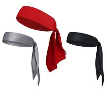 1pcs Head Tie Quick Elastic Drying Sweat Absorption Sports Headband Hairband Swe