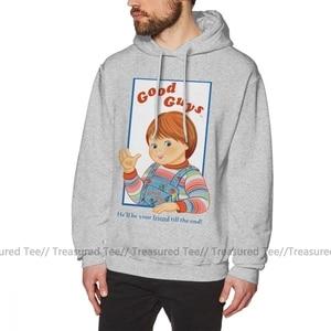Image 4 - Чаки Толстовка детская игра Good Guys Чаки толстовки оверсайз, костюм: сиреневый свитер хлопковая толстовка с капюшоном модные уличная толстовка с капюшоном