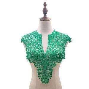 Image 2 - Broderie florale, col avant + col arrière, 7 couleurs, appliques artisanales, paillettes, accessoires de décoration Costume à faire soi même