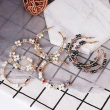 2020 модные роскошные женские золотые серьги шпагат с кристаллами