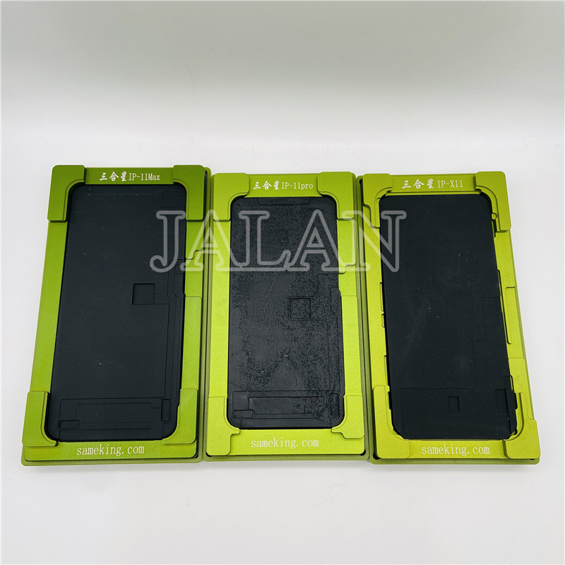 X/XS/XS MAX/XR LCD Display Touch Screen Glass Laminating Mold Positioning Digitizer Screen No Need Bend Flex Cable