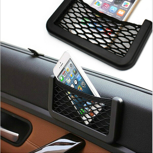 Car Storage Bag Net Pocket Auto Accessorie Accessories for Girls Car Hanging Ornament Decoration Gift Car Supplies