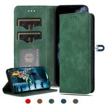 高級レザー固体財布ケースoppo A91 2020 フリップケースカードスロットホルダーシェルtpuバックカバーoppo a91 ケース 91 funda