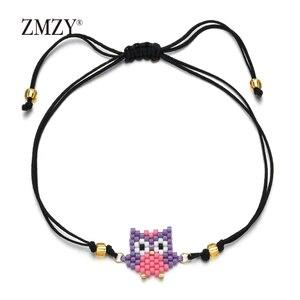 ZMZY Friends Cute Beads Owl Br