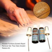 Wooden Furniture Scratch Repair Remover Set Floor Stain Scratch Restore Kit Floor Wax Scratch Repair Liquid For Floor Cabinets