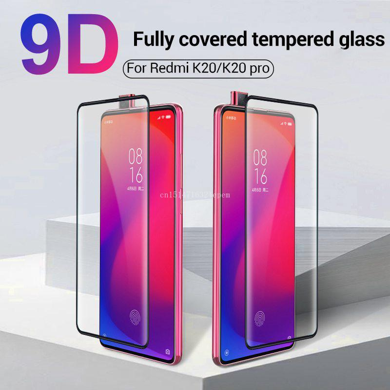 9D Protection Glass For Xiaomi Redmi K20 Pro Note 7 8 Pro Mi 9 9T Pro Mi9 SE Tempered Glass Screen Protector Glass