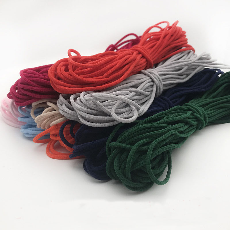1.0 mm red elastic cord rubber band,nylon cord,for shoes,pants,hair decoration accessories