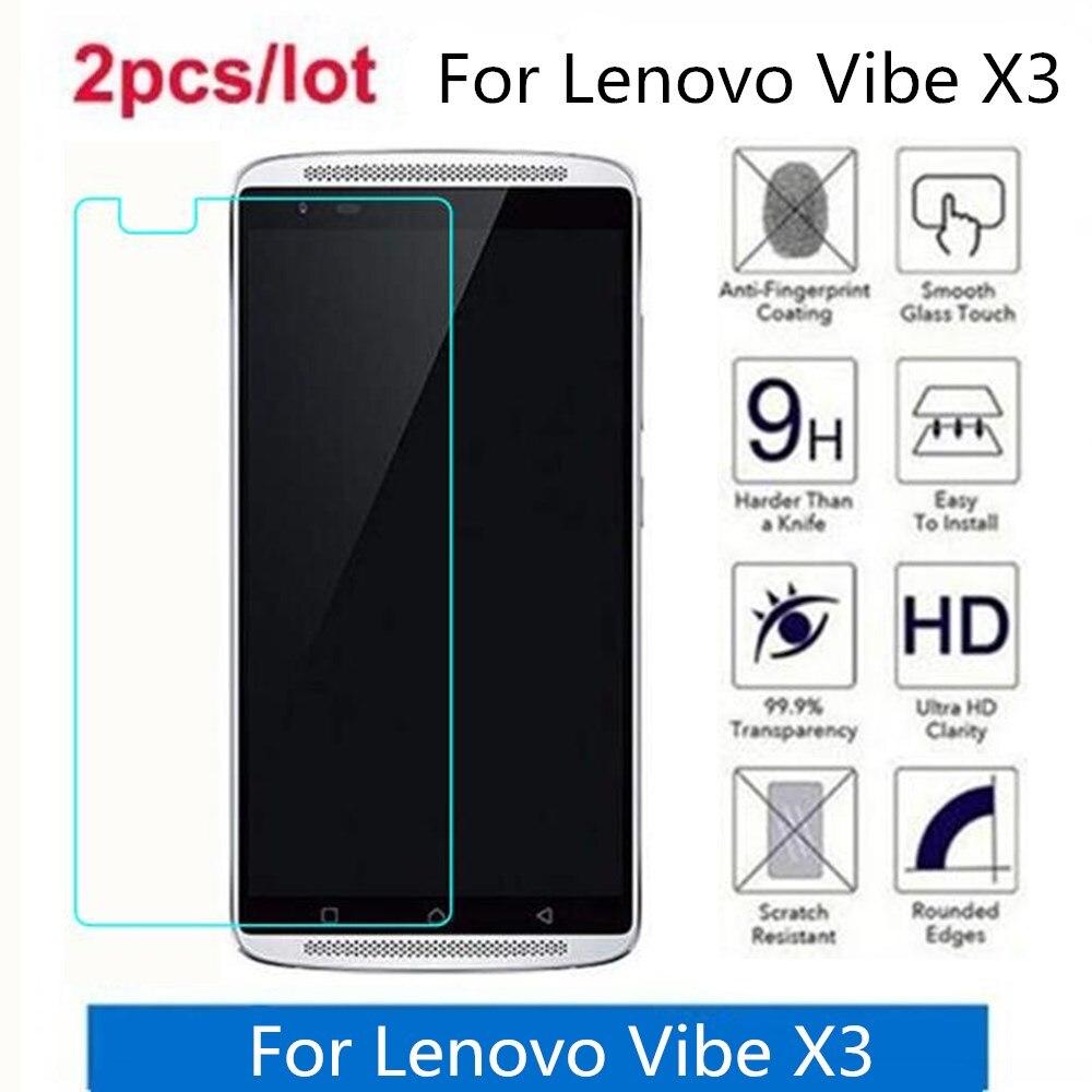 Tempered Glass For Lenovo Vibe X3 2.5D Premium Screen Protector Film On Lenovo Vibe X3 X3a40 X3c50 X3c70 Protective Film Glass
