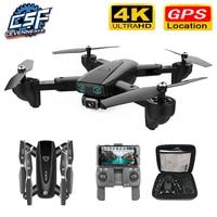 Drone GPS S167 con videocamera 5G RC Quadcopter droni HD 4K WIFI FPV pieghevole Off-Point foto volanti Video Dron elicottero giocattolo