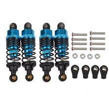 цена на 1/10 Aluminum Oil Shock Damper Set For Tamiya TT-01/TT01E/TT02