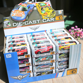 5/10/20/48pcs Mini Alloy Car Model Diecasts Vehicle Toys Hot Plastic Wheels Box Pull Back Metal Auto Toy Car For Kids Boys Gifts