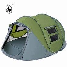 Outdoor Camping Tent Snelheid Open Tenten Gooi Pop Up Wandelen Automatische Seizoen Familiefeest Strand Tenten Grote Ruimte Gratis Verzending
