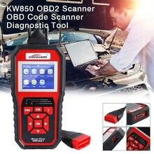 цена на OBDII Scanner Auto Diagnostic Scanner KW850 Full Function Car Diagnosis Car Scanner Universal OBD Engine Code Reader