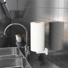 Paper-Towel-Holder Tissue-Paper Toilet Wall-Mount Bathroom Kitchen for Adhesive No-Drilling