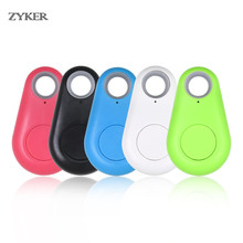 цена на Smart Finder Bluetooth Tracer Pet Child GPS Locator Tag Alarm Wallet Key Tracker