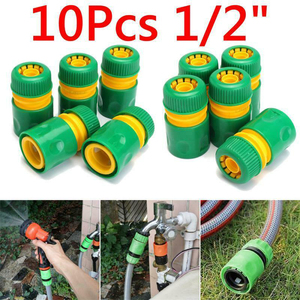 """Image 5 - 1/3/10pcs 5/8"""" 1/2"""" 3/4"""" Barbed Irrigation Hose Connector Quick Tap Water Adapter Fast Coupling Adapter Drip Tape Garden Tool"""