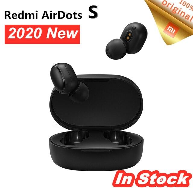 Xiaomi fones de ouvido redmi airdots, fones auriculares, em estoque, esquerda = direita, inferior, modo mi redmi airdots 2 tws, bluetooth 5 link automático estéreo sem fio,