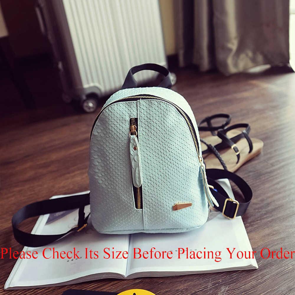 2019 novas mochilas para meninas do ensino médio moda sacos de couro do plutônio ptgirl jacaré mini mochila feminina
