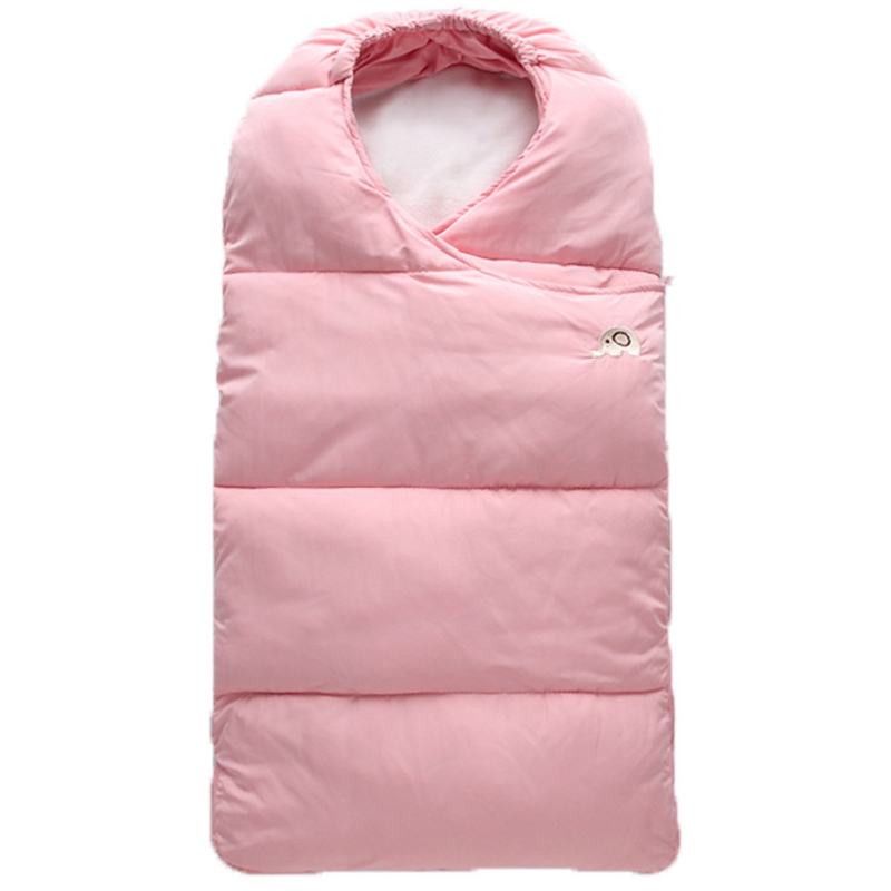 0-2 Years Baby Sleeping Bag Blanket Bed Swaddle Sleeping Bag Envelope Baby Winter Stroller Newborn Bedding Cute Wrap Sleepsack
