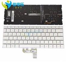 Клавиатура ovy la с подсветкой для ноутбука asus zenbook 14