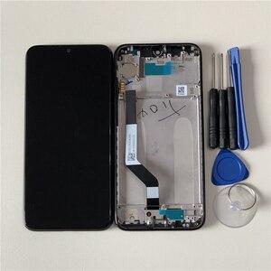 "Image 5 - Original M & Sen กรอบ LCD 6.3 ""สำหรับ Xiaomi Redmi หมายเหตุ 7 Redmi Note7 Pro หน้าจอ LCD + touch Screen Digitizer กรอบ"