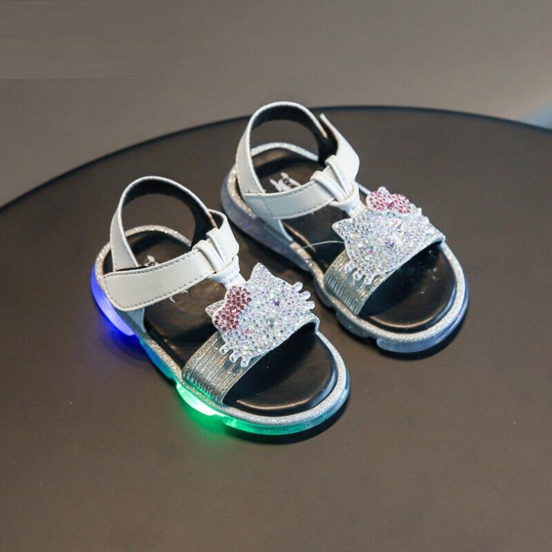 Skhek Children Girls Sandals Shoes Summer Baby Girls Toddler Sandals Princess Shoes for Kids Sandals Girls Infant Sandal