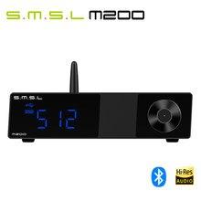 Smsl decodificador m200 › dac, bluetooth 5.0, suporte 32bit/768khz dsd512 com controle remoto