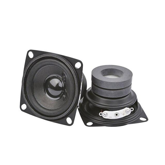 AIYIMA 2 pièces 4 pouces Portable gamme complète haut parleur pilote 8Ohm 5W Audio haut parleurs colonne pour bricolage Home son cinéma
