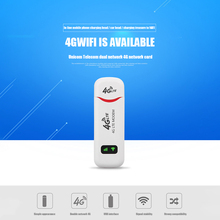 Repetidor enrutador de Wifi USB portátil, extensor de señal inalámbrico, 4G/3G, 100Mbps, compatible con FDD LTE de varias bandas B1 B3 B7 B8 B20