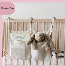 Bedside Storage Bag Baby Crib Organizer Hanging Bag for Dormitory Bed Bunk Hospital Bed Rails Book Toy Diaper Pockets Bed Holder