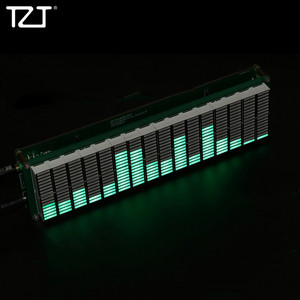 Image 1 - TZT 16 רמת LED מוסיקה ספקטרום אודיו רמת מחוון מוסיקה תצוגת DIY גמור ערכות AK1616