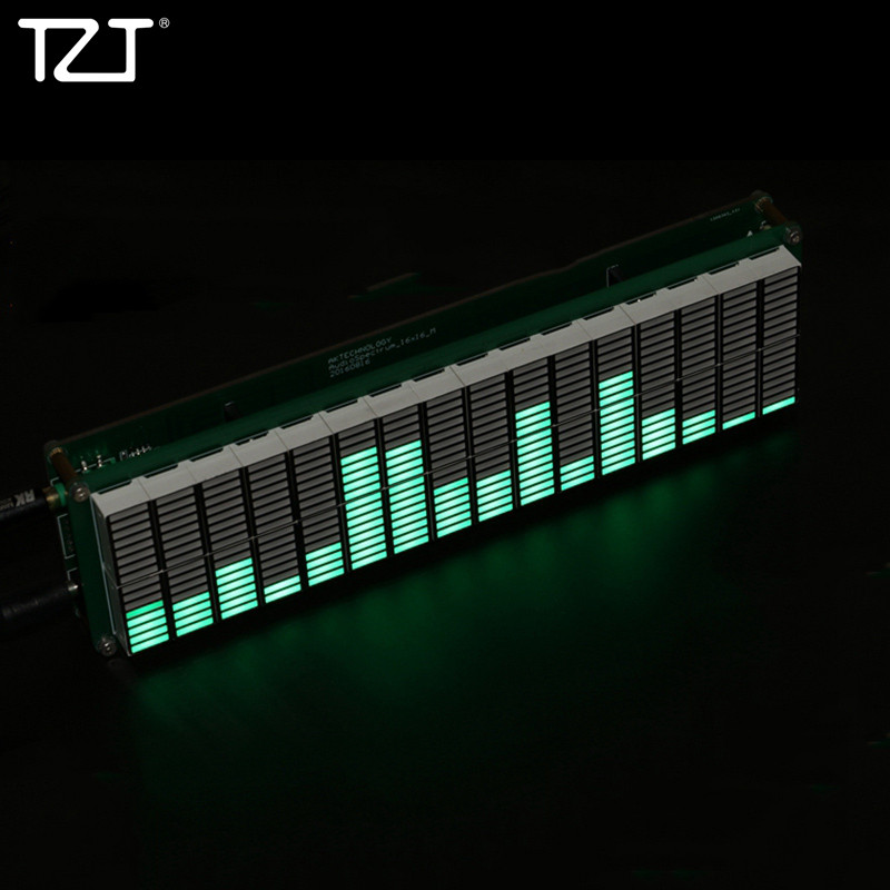 TZT 16-Level LED Music Spectrum Audio Level Indicator Music Display DIY Kits Unfinished AK1616