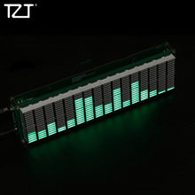 TZT 16-Level LED Music Spectrum Audio Level Indicator Music Display DIY Kits Unfinished AK1616(China)