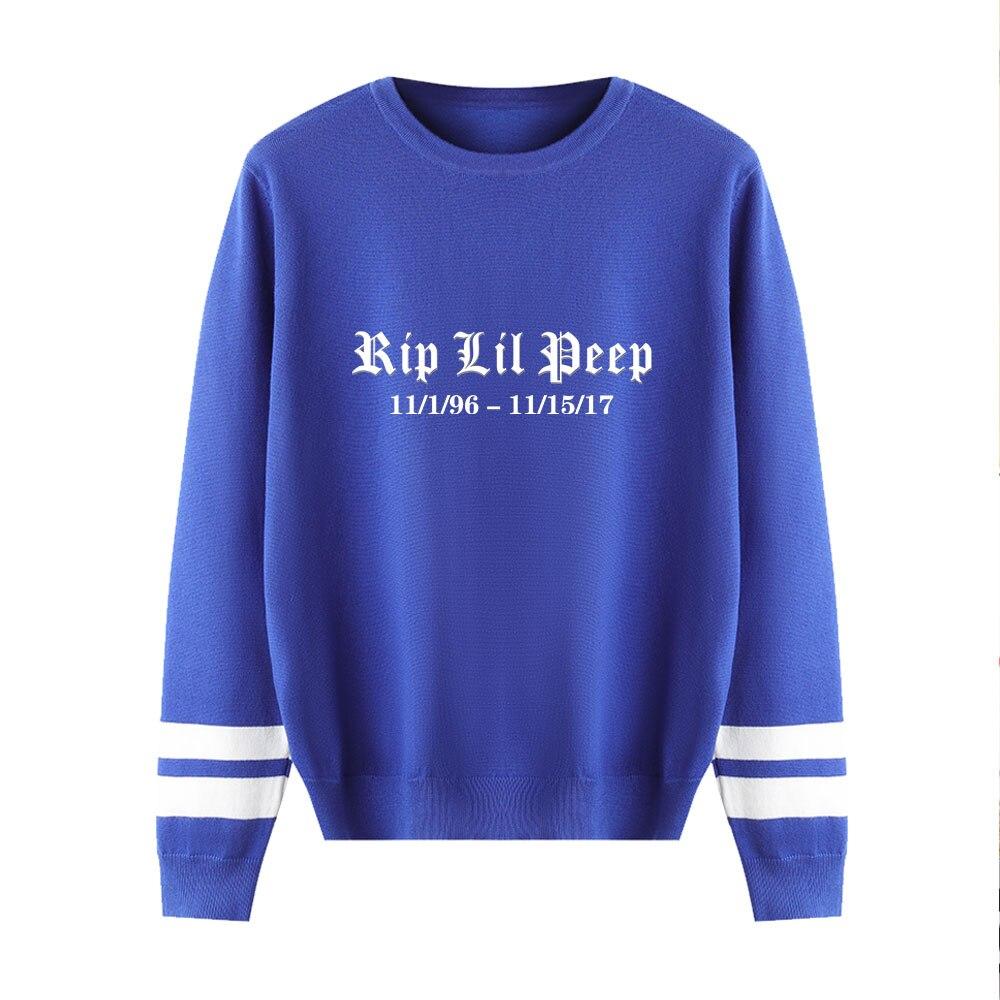 Lil Peep Sweater Men/women 2019 Aikooki New Fashion Print Harajuku Casual Sweater Lil Peep Popular O-neck Weater Casual Top