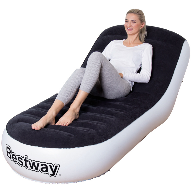 Office Home Swimming Pool Beach Inflatable Lounge Chair One Person Sleeping Inflatable Couch Sofa