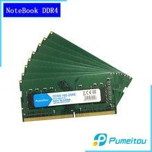 Pumeitou AMD Intel RAM DDR4 4GB 8GB 16GB 2133 2400 2666MHz dizüstü Memoria dizüstü bellek 260pin 1.2V yeni RAMs 4G 8G 16G