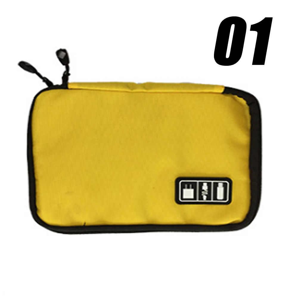 الإلكترونية حقيبة التخزين كيت كابل بيانات الموجبة متعددة الوظائف الرقمية حقيبة أداة الأجهزة مقسم المنظم