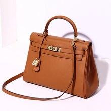 2021 neue Design Luxus Echtem Leder Klassische frauen Tasche Damen Mode Handtaschen Berühmte Marken Weibliche Crossbody Messenger Taschen