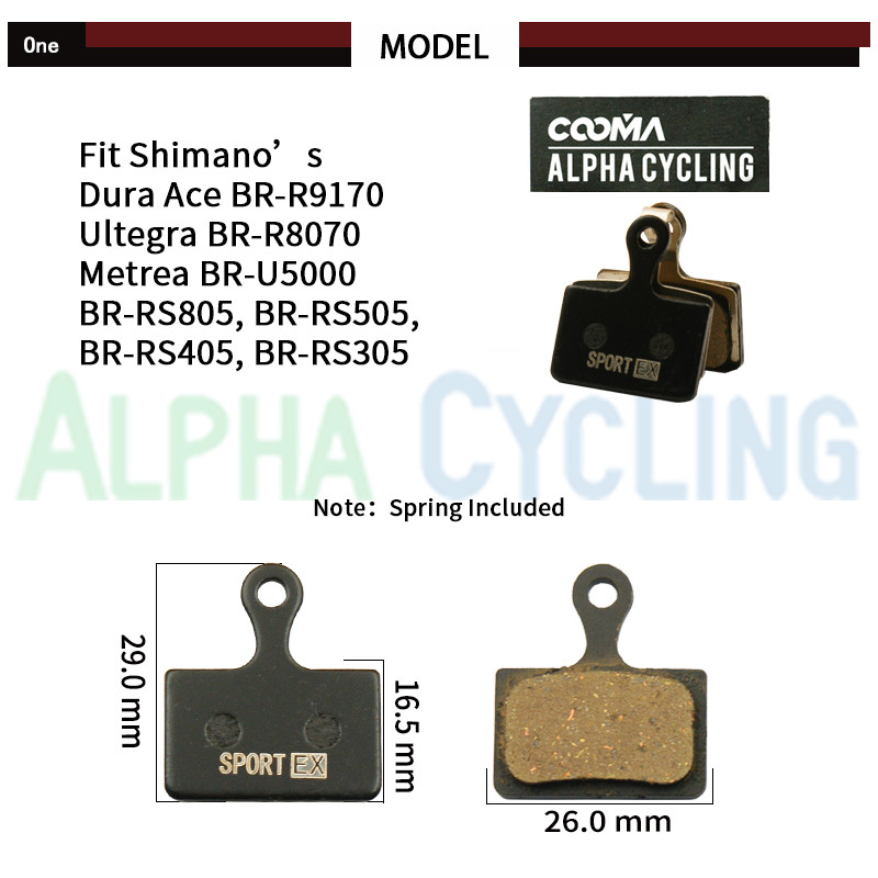 1 Pair Shimano BR-RS805//RS505//RS405//RS305 Front Caliper Fixing Bolt A